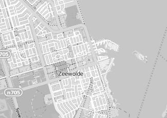 Kaartweergave van Bunschoten in Zeewolde