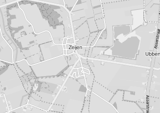 Kaartweergave van Albert heijn in Zeijen