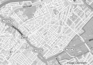 Kaartweergave van Groningen in Zeist