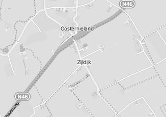 Kaartweergave van C kooijman in Zijldijk