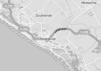 Kaartweergave van Protestandse gemeente in Zoutelande