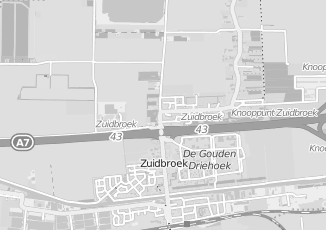 Kaartweergave van Dekker in Zuidbroek