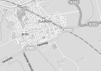 Kaartweergave van Koning in Zuidhorn