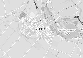 Kaartweergave van Meerkerk in Zuidland