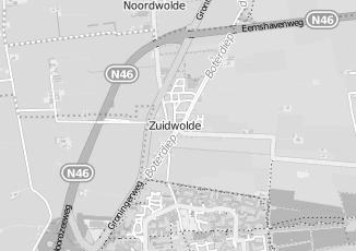 Kaartweergave van Mulder in Zuidwolde Groningen