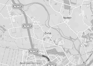 Kaartweergave van Hout in Zuna