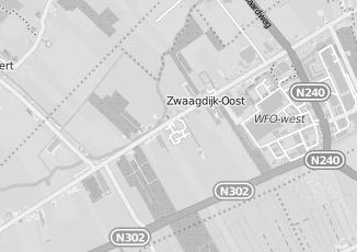 Kaartweergave van Welkoop in Zwaagdijk