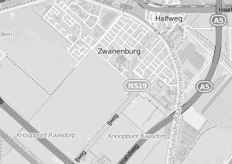Kaartweergave van Fuijk in Zwanenburg
