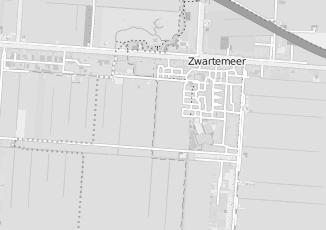 Kaartweergave van Post in Zwartemeer