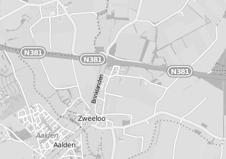 Kaartweergave van Bank in Zweeloo