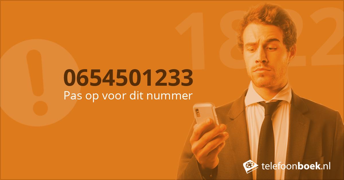 telefoonnummer terugzoeken